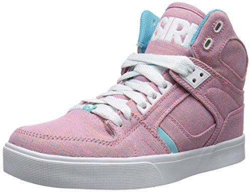 Osiris Women's NYC83 VLC W Skate Shoe, Pink/White/CCC, 8.5 M US