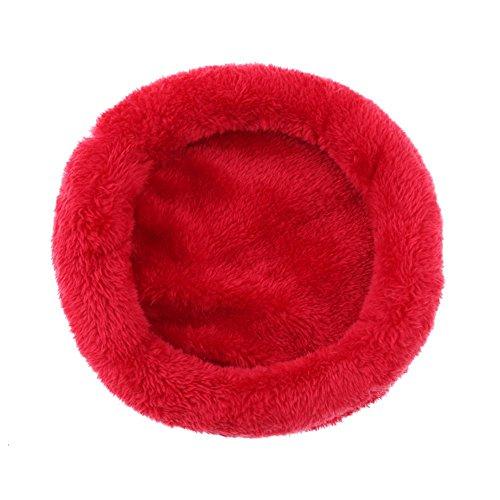 WinnerEco Cute Animal Pet Rabbit Hamster House Bed Washable Winter Warm Soft Cushion