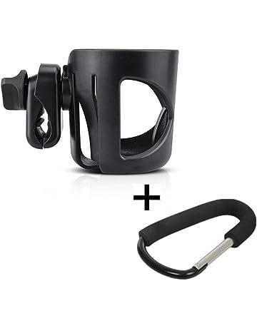 Hyde Stroller Cup Holder, Portavasos universal con 360 grados de rotación para cochecitos o sillitas