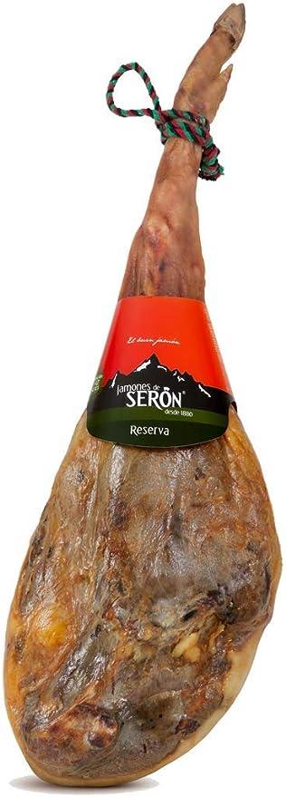 Jamón Serrano Reserva Seron de 7,5 kg: Amazon.es ...