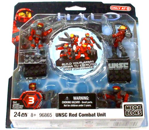 Mega Bloks Halo Wars Series 2 Blue Flame Marine #96870 by Mega ...
