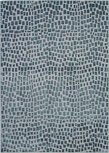 Nourison Urban Chic Grey Mid-century Area Rug 4 x 6