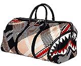 Sprayground Shark in London Duffele Bag