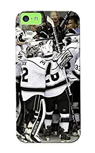 meilinF000Honeyhoney Sanp On Case Cover Protector For ipod touch 5 (losangeleskings Nhl Hockey Los Angeles Kings (70) ) For Christmas Day's GiftmeilinF000