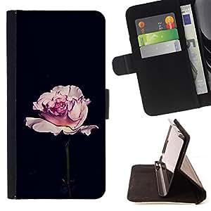 - Queen Pattern FOR Samsung Galaxy S5 V SM-G900 /La identificaci????n del cr????dito ranuras para tarjetas tir????n de la caja Cartera de cuero cubie - rose black romantic minimal