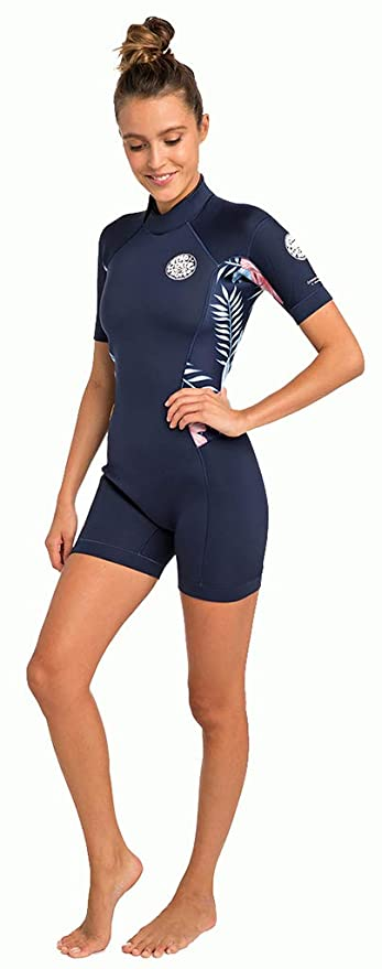 Amazon.com   Rip Curl Women s Dawn Patrol Short Sleeve Spring Suit   Sports    Outdoors b1710d1d0