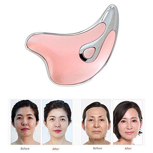 Liquid Link Necklace (Electric Massage Therapy Board Wrinkle Remover Face Skin Beauty Firmig Slimming Vibration Massager Care)