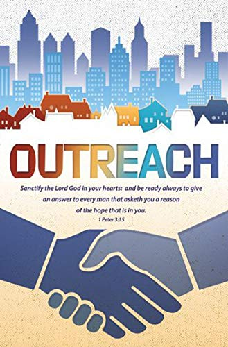Warner Press Bulletin-Outreach/Be Ready to Give an Answer (1 Peter 3:15 KJV) (Pack of 100)