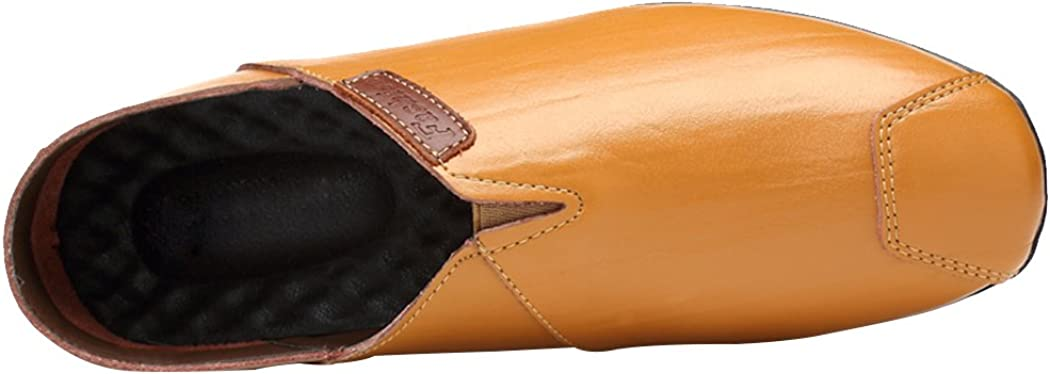 Sun Lorence Mens Summer Breathable Hollow-Out Leather Driving Moccasins Casual Slip-on Flat Loafer Shoes