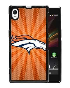 Xperia Z1 phone cover,Denver Broncos 05 Black Sony Xperia Z1 cell phone case