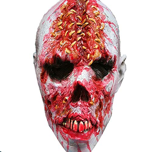 Bsjz Horror Zombie Mask Oyster Character Haunted House Horror Props Halloween Costume Accessories -