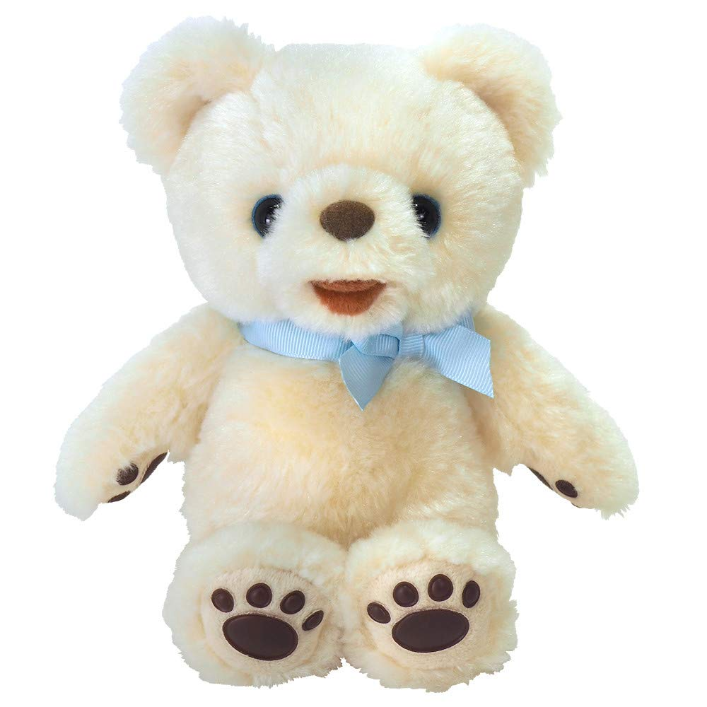 Sun Lemon Pola Bear Paw Plush Doll Smiling Size:S P-5112