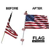EasyGo Tangle Free Spinning Flag Pole