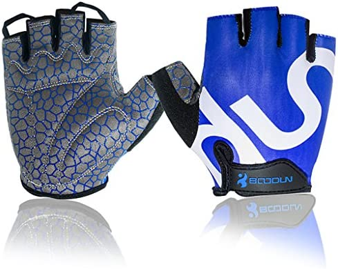Cycling Gloves Bicycle Bike Racing Sport Mountain MTB Breathable Half Finger New