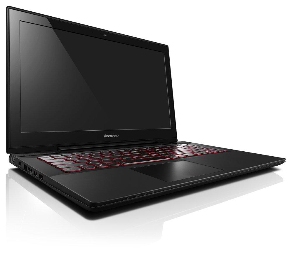 Lenovo IdeaPad Y50-70 - Portátil, Negro, Concha, Aluminio, Juego, i7-4720HQ