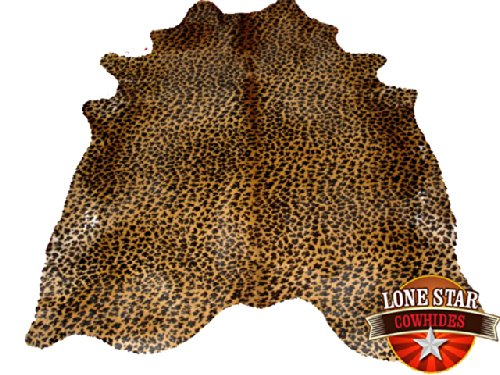 New Cowhide Rug Cowskin Cow Hide Brazilian Leather Leopard