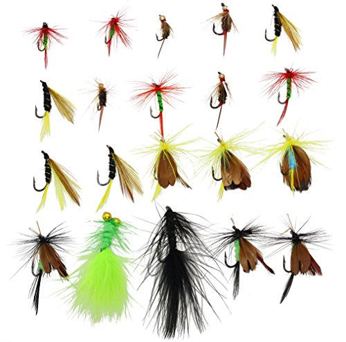 LotFancy Fishing Including Streamers Assortment