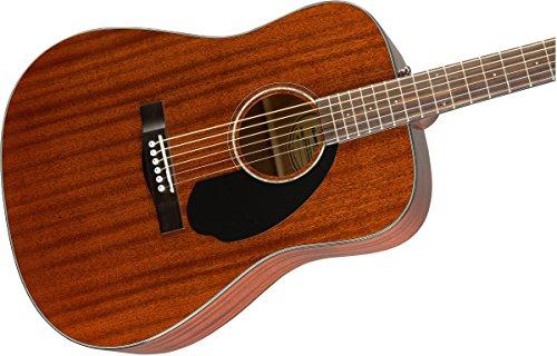 Fender CD60s Dreadnought Acoustic Guitar (Mahagony) 5