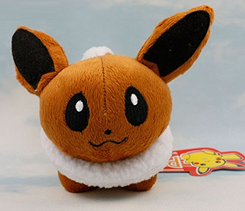 Eevee Plush Toy Mini Size Cute Kids ()