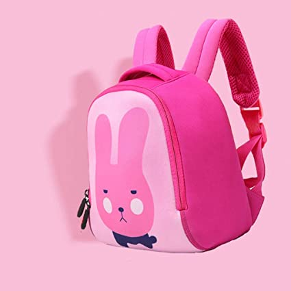 00776336a111 Amazon.com: CXQ Cute Children's School Backpack Pink Bunny Cartoon 1 ...