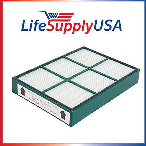 -  LifeSupplyUSA 2 Pack Replacement True HEPAtech Filter fits Hunter 30936 Quiet Flo Air Purifier