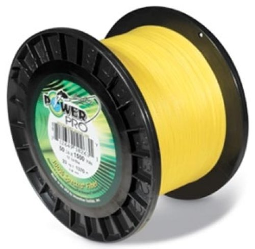- PowerPro Hi- Vis Yellow Line- 250lb/ 1500 Yd #21102501500Y