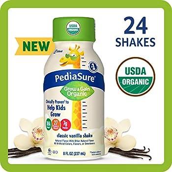 24-Count 8 fl oz PediaSure Organic Kid's Nutrition Shake