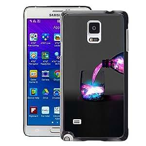 SKCASE Center / Funda Carcasa - Espacio Galaxy Bebida - Samsung Galaxy Note 4
