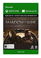 Middle-Earth: Shadow Of War - Story Expansion Pass - Xbox One [Digital Code]