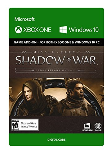 Middle-Earth: Shadow Of War - Story Expansion Pass - Xbox One [Digital Code] by Warner Brothers