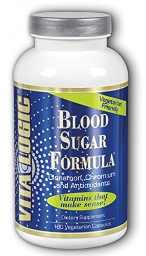 Blood Sugar Formula 180 Caps by Vita Logic