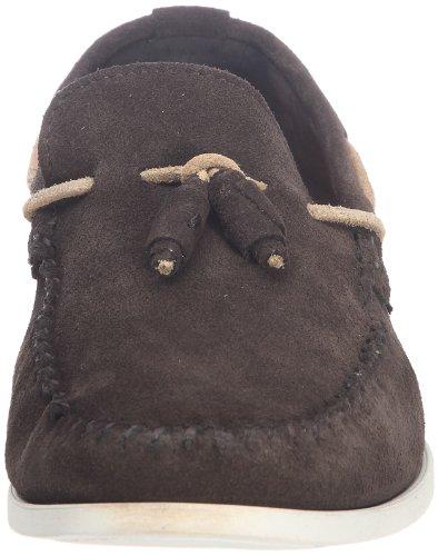 Base London Joplin - Mocasines de cuero Hombre marrón - Marron (Suede Brown)