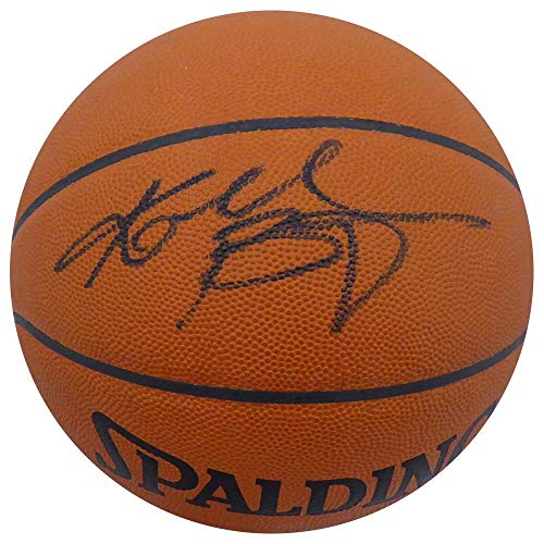 Kobe Bryant Autographed Spalding Official Leather NBA Basketball Los Angeles Lakers Rookie Era Signature PSA/DNA #1A47902 ()
