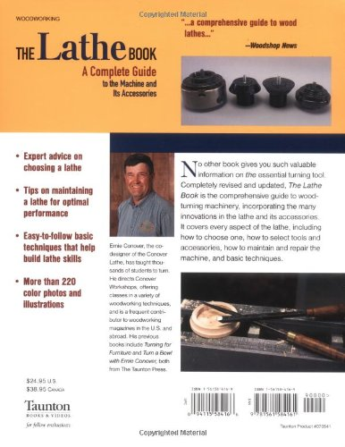 The lathe book a complete guide to the machine and its accessories the lathe book a complete guide to the machine and its accessories ernie conover 9781561584161 amazon books fandeluxe Image collections