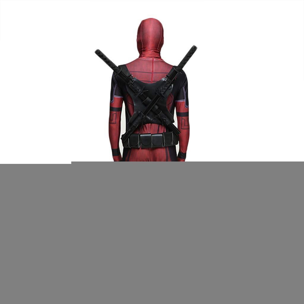 QWEASZER Oficial Marvel Deadpool Deluxe, Disfraz de adulto ...