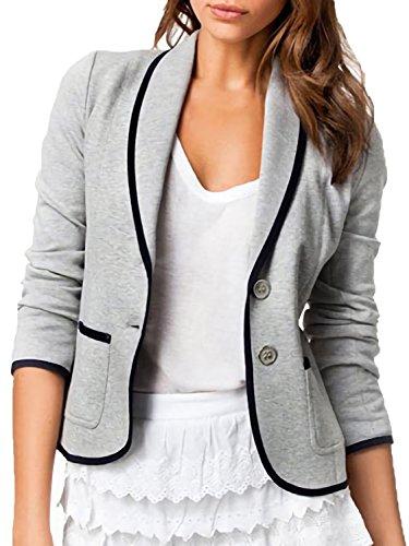 [アズルテ] コットン ジャケット 風 カーディガン レディースファッション S~XL 相当 柔らか 素材 アウター