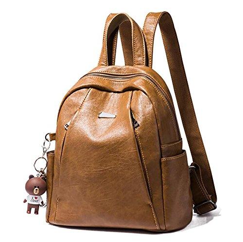 décontracté sac de 29cm à mode dos multifonctionnel sac 28 femmes cuir Sac à PU de souple 14 main en Oq4IdnP