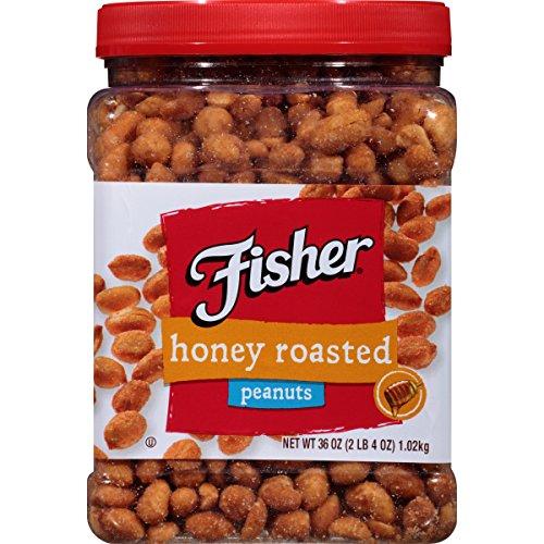 FISHER Honey Roast Peanuts Ounce product image