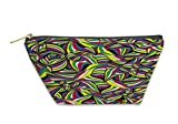 Gear New Accessory Zipper Pouch, Abstract Flag Of South Africa Abstract Colorful Graphic Pattern Handdrawn, Small, 5795815GN