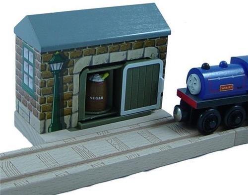 The Bakery Mill - Thomas Wooden Railway Train Tank Engine - Brand New Loose
