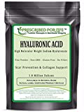 Cheap Hyaluronic Acid – Natural Food Grade Sodium Hyaluronate (HA) Powder – High Molecular Weight 1.42 mil Daltons, 2 oz