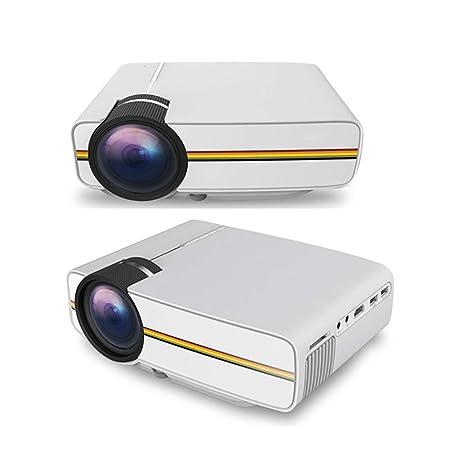 Fohee Proyector,Proyector LED móvil, Proyector de Video de Cine en ...