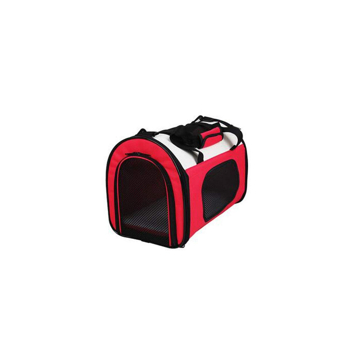 Red LargeCapacity Portable Pet Back, Pet Bag for Cats and Small Dogs,Brown, Red, (color   Red)