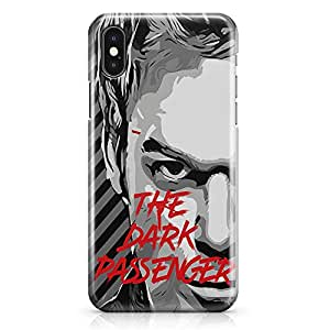 Loud Universe Dexter iPhone X Case Quote Passenger iPhone X Cover with 3d Wrap around Edges