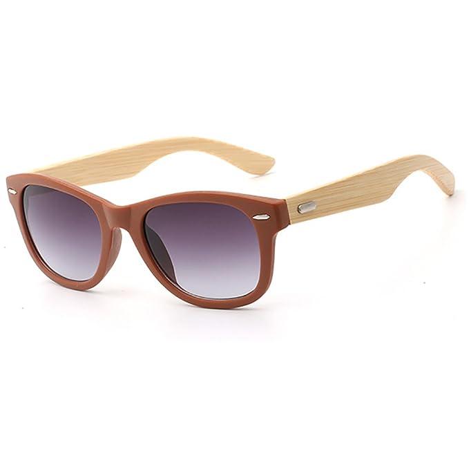 Bambú Gafas de sol de madera Gafas de conducción polarizadas ...