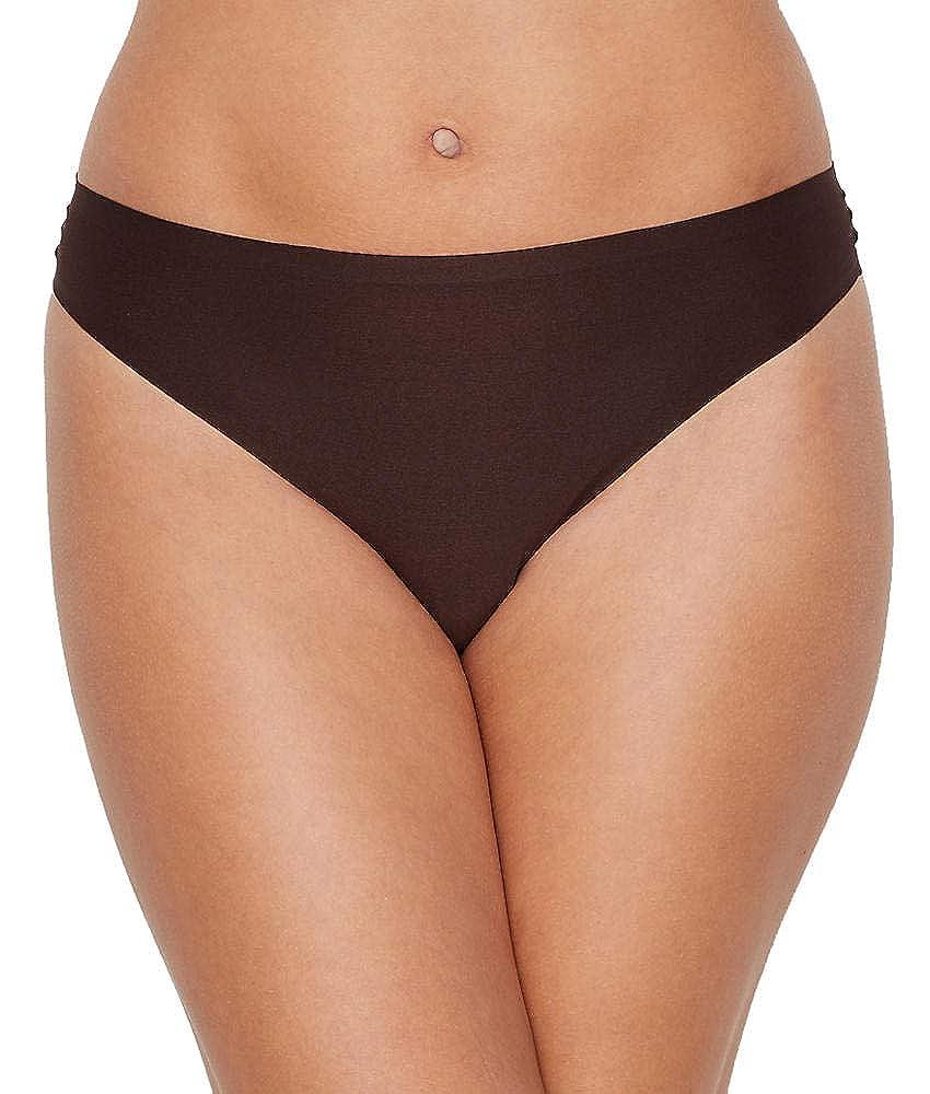 Chantelle Womens Standard Soft Stretch One Size Regular Rise Thong Black 2649