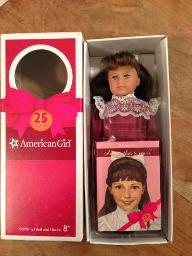 American Girl 25th Years Special Edition Samantha Mini Holiday Doll with Hardcover Book, Baby & Kids Zone