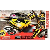 BNIB TRANSFORMERS Slot Cars Racing System Figure 8 Track WITH TRANSFORMER BUMBLEBEE AND LOCKDOWN NEW