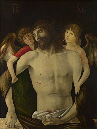 [Oil Painting 'Giovanni Bellini The Dead Christ Supported By Angels' 8 x 11 inch / 20 x 27 cm , on High Definition HD canvas prints is for Gifts And Garage, Kids Room And Kitchen] (Top Diy Halloween Costumes 2016)