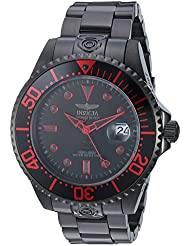 Invicta Mens Pro Diver Automatic Stainless Steel Casual Watch, Color:Black (Model: 21870)